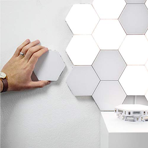 LED Wandlampe,led Kreative Dekorative Wandleuchte Quantum Lamp - Wandleuchte kann in Verschiedene Formen der Touch Control Honeycomb Lamp - Der Touch