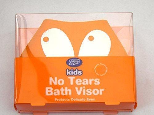 Childs / Kids Shampoo Shield No Tears Bath Visor Bathtime