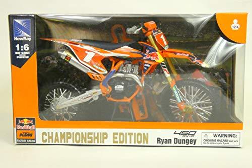 New Ray Moto Miniatur, 49623, Mehrfarbig (1 6 Motorrad)