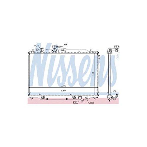 Nissens 62444A Kühler, Motorkühlung