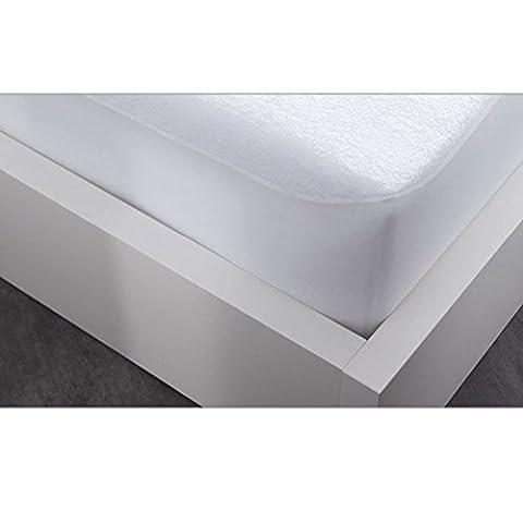Today 114950 Protège Matelas Polyester/Coton Blanc Grand 160 x 200 cm