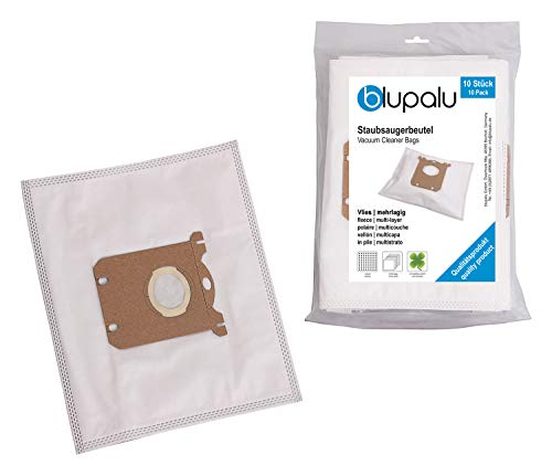 blupalu I Staubsaugerbeutel für Staubsauger Electrolux Ultrasilencer Energy Saver I 30 Stück I mit Feinstaubfilter | optimierter Adapter - Aufsatz -