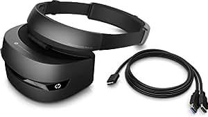 HP Casque de Réalité Mixte VR1000-100nn – Casque de Réalité Virtuelle + 2 contrôleurs