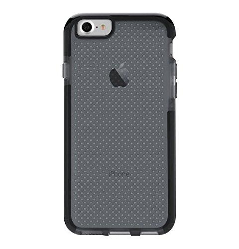 """Tech21 EVO Check 4.7"""" Funda Negro, Transparente - Fundas para teléfonos móviles (Funda, Apple, iPhone 7, 11,9 cm (4.7""""), Negro, Transparente)"""
