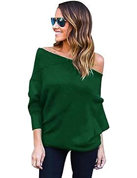 Jerseys de Punto Mujer Sueter Tejido Señora Suéter Mujeres Jersey Oversize Sweaters Sueteres Tejidos Pullover...