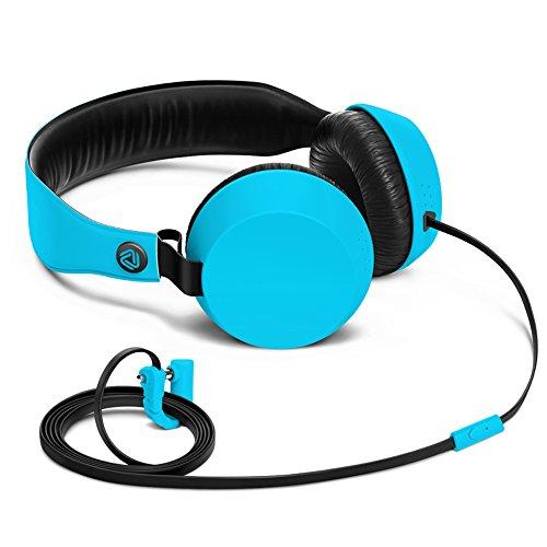 Nokia Coloud Boom Over-Ear Kopfhörer (geeignet für iPod, iPhone, MP3 Player und Smartphone) blau