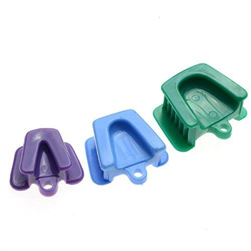 ULTNICE Dental Mund Prop Bite Block Kissen Opener Retractor Kleine Medium Große Größe 3pcs (Bite Block)