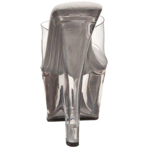 Pleaser Wedges Beau-601 transparent Kork Transparent