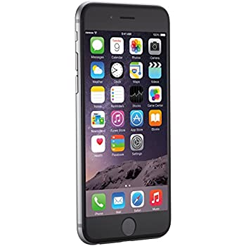 apple iphone 6 space gray 64 gb unlocked electronics. Black Bedroom Furniture Sets. Home Design Ideas