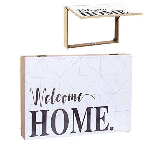 D,casa - Tapa de contador diseño frase Welcome home