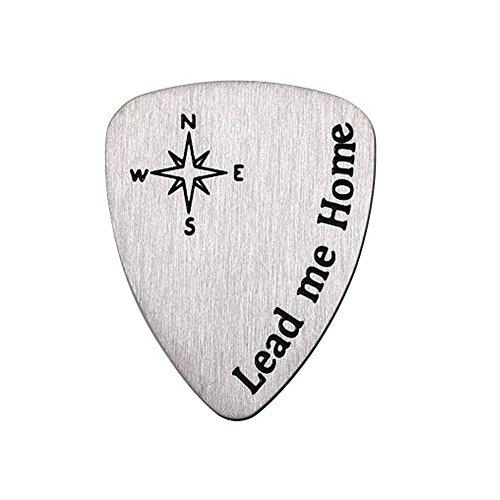 Gitarre Plektrum Plektron Picks Titan Stahl Fingerstyle Plektrum Gitarre Daumen Finger Picks für Bass-Gitarre Ukulele Banjo und Resonator Gitarre Finger Picks 2