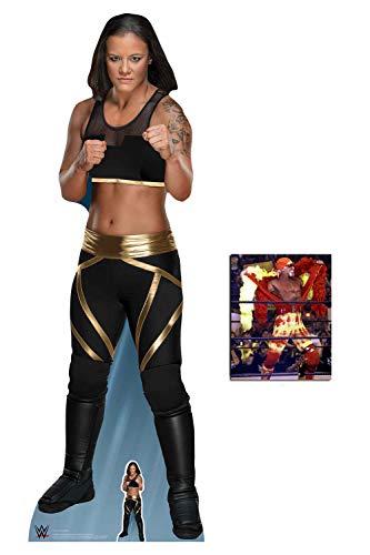 (BundleZ-4-FanZ by Starstills Shayna Baszler WWE Lebensgrosse und klein Pappaufstellermit 25cm x 20cm Foto)