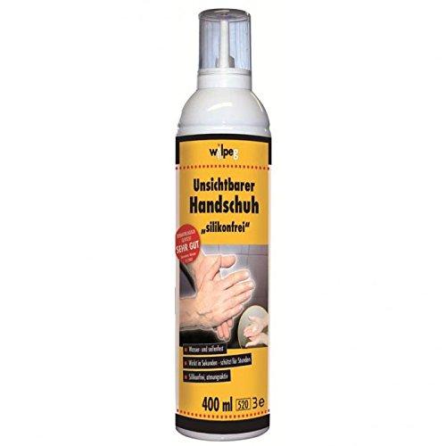 WILPEG Unsichtbarer Handschuh Spray Handschuhspray Handschuhe 400ml Dose