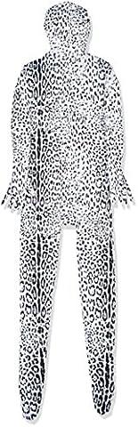 Luxus-Ausgabe: Dalmatiner Tier Druck Lycra Catsuit von Stretchy Suits (Männer: Medium) (Skin Tight Halloween Kostüme)