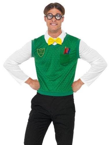 Smiffy's - Disfraz de friki para hombre, talla M (31110M)
