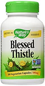 Nature's Way - Blessed Thistle Herb, 390 mg, 100 capsules