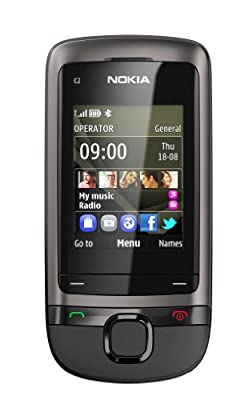 Nokia C2-05 Sim Free Mobile Phone - Dark Grey