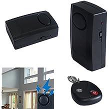 HMOCNV Universale moto moto scooter magnetico vibrazioni senso di sicurezza antifurto sistema di allarme con telecomando portachiavi per casa porta/finestra