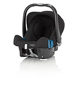 Britax Baby-Safe Plus SHR II Infant Carrier - Group 0 + (Birth - 12/15 months), Black Thunder
