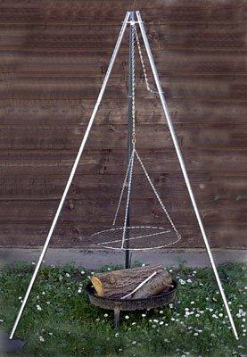 Relags Grillrost Coghlans Ersatzgrillrost für Dreibein-Grill, silber, One Size, 380001
