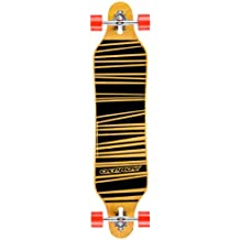 Osprey Longboard Line - Skateboard ( tablas ), color marrón, talla 40 Inch