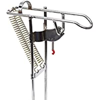 Automático tip-up soporte para cañas de pescar de pescado gancho Setter para varilla de acero inoxidable, portátil