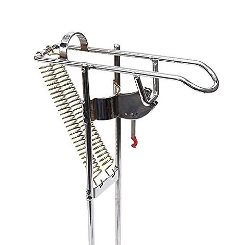 automatique Tip-up Canne à pêche support Rack, EN ACIER INOXYDABLE Poisson Rod Crochet Setter Portable