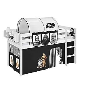 Vorhang Star Wars Schwarz - für Hochbett, Spielbett und Etagenbett