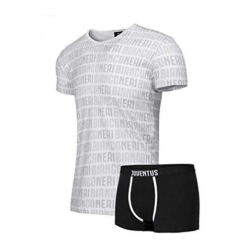Juventus Completo Intimo Boxer Set T-Shirt 14 Anni Prodotto Ufficiale