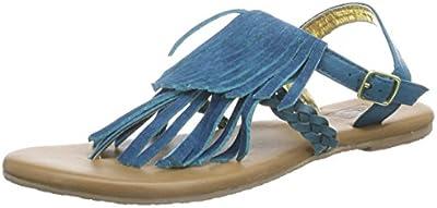 Vans KIHANA FRINGE - Sandalias de lona para mujer