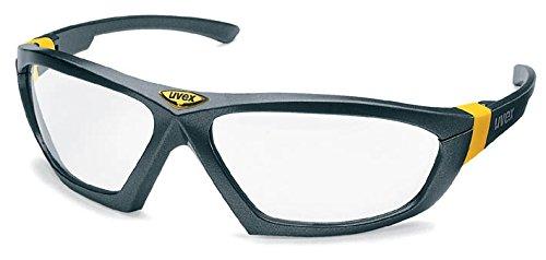 Uvex Ersatzscheibe für Uvex Bügelbrille 9185 athletic, Scheibe: farblos, Schutz: 2-1,2