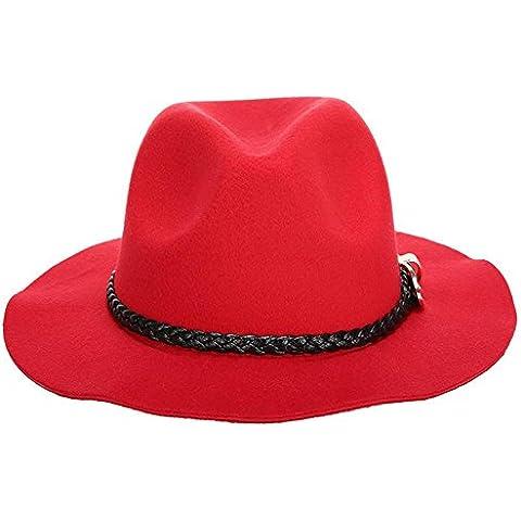 WW Cappelli di moda casual Lady Jazz cappello ,