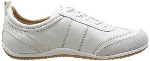 Geox D Vega A, Sneakers Basses Femme Blanc (C1352)