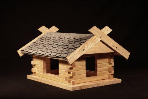 "Vogelhaus Bausatz (Groß) - Grau "" 23.210 """