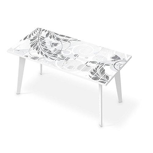 creatisto Dekorationssticker für Tisch 160x80 cm | Klebefolie Sticker Aufkleber Home & Style Tischfolie | Muster Ornament Florals Plain 2