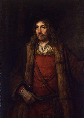 rembrandt-homme-avec-manteau-double-de-fourrure-environ-1660-65-sur-format-a3-papiers-brillants-de-2