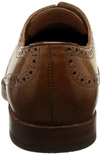 Hudson - Talbot, Scarpe stringate Uomo Marrone (Marron (Calf Tan))
