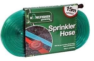 Kingfisher - Sprinkler Hose 15M Approx - Ideal For Borders Flower Beds Lawns