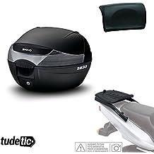 SHAD - KIT-SHAD-1043/214 : Kit fijacion y maleta baul trasero + respaldo pasajero regalo SH33 --- KYMCO K-XCT i 125 (2013-2016) --- KYMCO K-XCT i 300 (2013-2016)