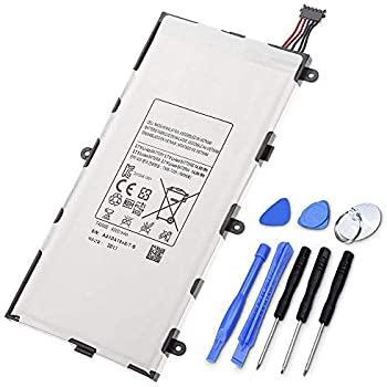 Instructions and Tools compatible with Samsung GALAXY Tab 7 GT-P1000 and GT-P1010 NewPower99 Battery Replacement Kit with Battery