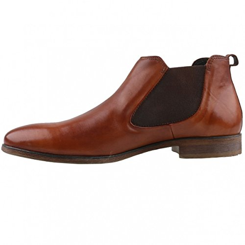 bugatti Herren 311143202500 Chelsea Boots Braun (Cognac)