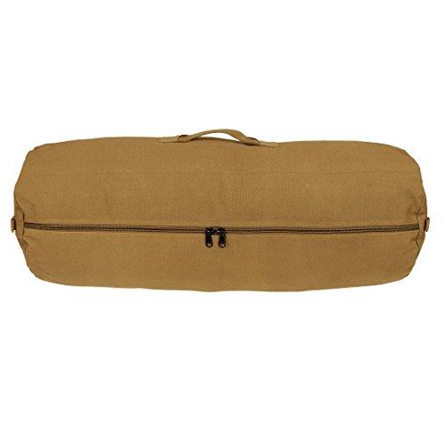 10T RVC Duffle Bag 70 XXL Seesack Ø32x90cm Reisetasche Canvas Rucksack Leinentasche 100% Baumwolle