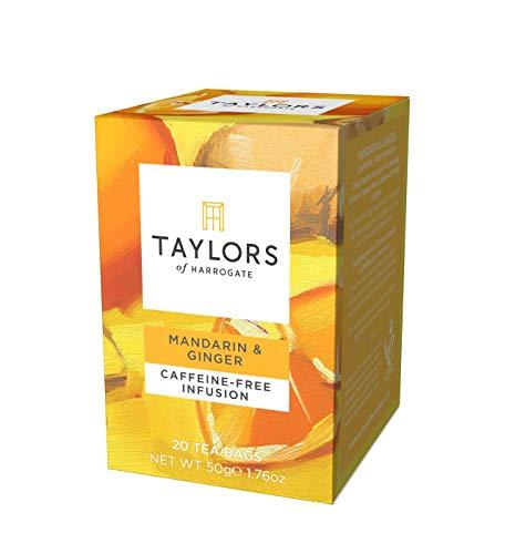 Taylors of Harrogate and Royal Botanic Gardens Kew Mandarin and Ginger Infusion Tea Bags, 30 g -
