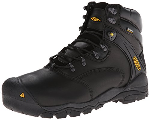 Keen Utility Men's Louisville 6 Steel Toe Work Boot,Black,12 EE US Usa Steel Toe Boots