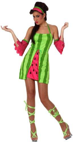 Wassermelone Kostüm - ATOSA 10520 Karnevalskostüm, Mehrfarbig, M- L