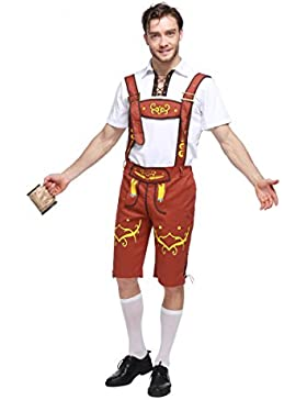 Tranditional German Girl / Herren bayerischen Bier Oktoberfest Yodeler Maiden Tavern Kellnerin Wench Halloween...
