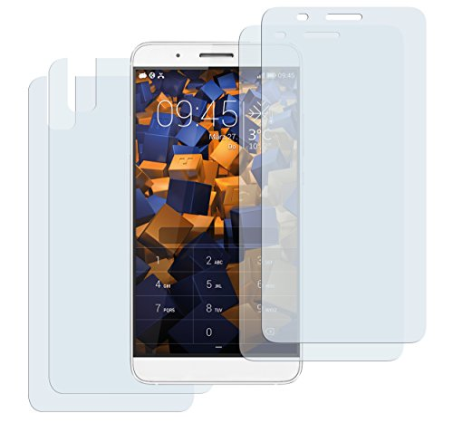mumbi Schutzfolie kompatibel mit Huawei Shotx Folie klar, Bildschirmschutzfolie (4x)