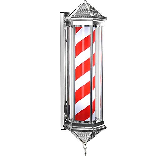 Apliques de exterior Barber Pole LED tradicional