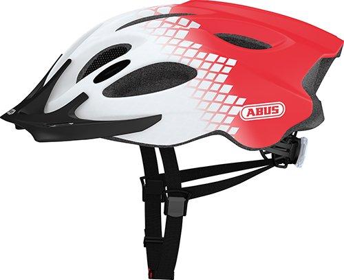 Abus Erwachsene Aduro Fahrradhelm, Diamond red, 58-62 cm