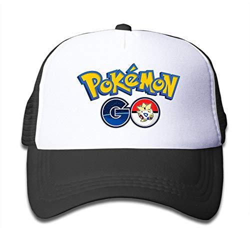 4b3d9518107 RAINNY Cap Hat WuliNN Boys Girls Pokemon Go Togepi Adjustable Mesh Trucker  Caps Hats Black